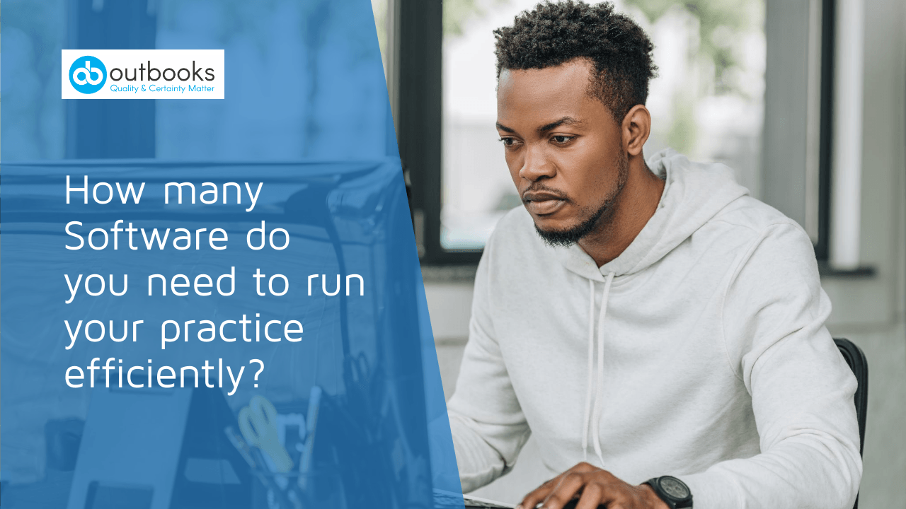 How many Software do you need to run your practice efficiently?